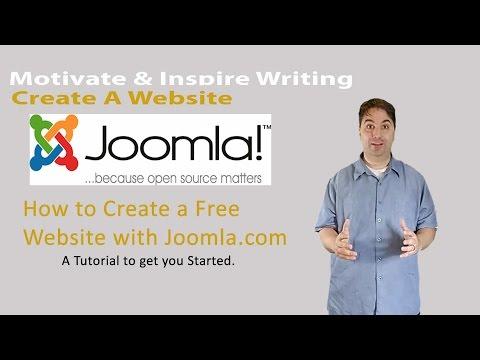 Create A Free Website With Joomla.com