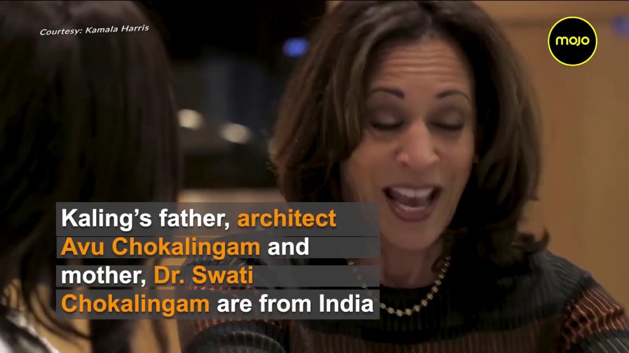 Us Presidential Hopeful Kamala Harris Actor Mindy Kaling Cook Masala Dosa Bond Over India Youtube