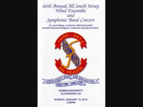 """Mangulina"" - All-South Jersey Wind Ensemble 2012"