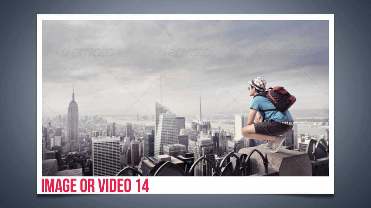 good memories slideshow - after effects free template - youtube, Presentation templates