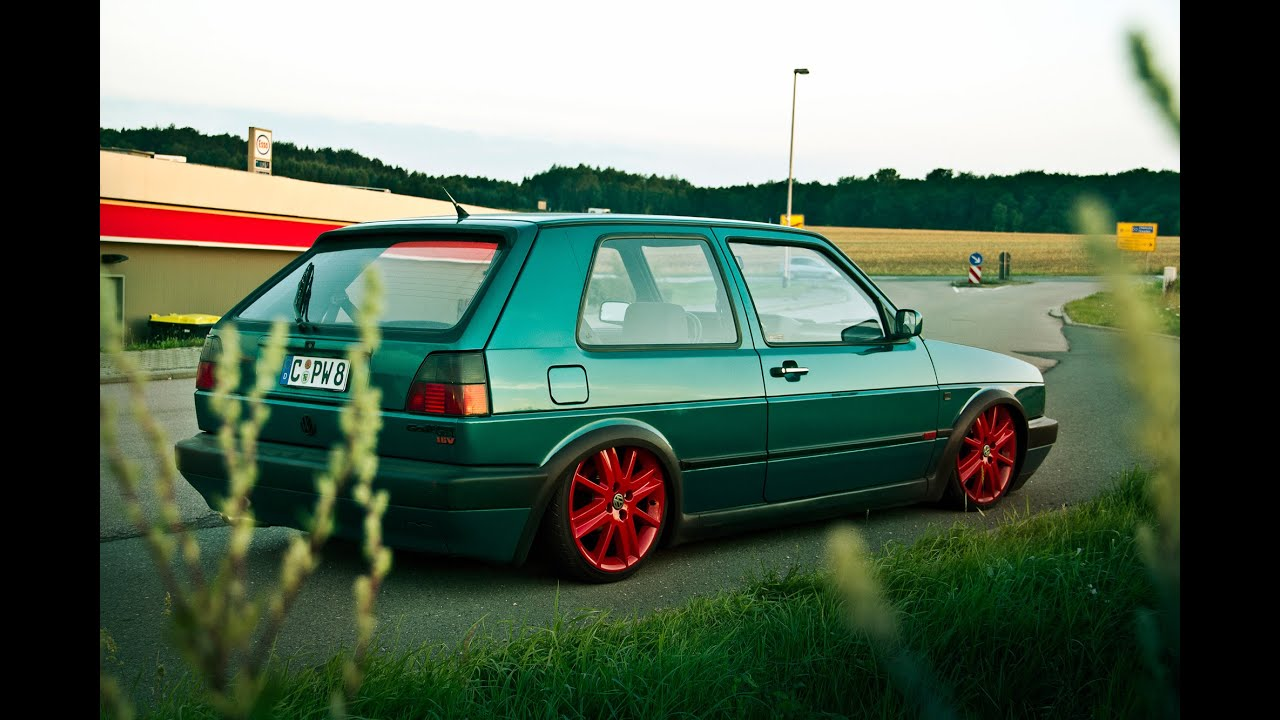 frohlix entertainment lowstatic vw golf mk gti  emuemusen youtube