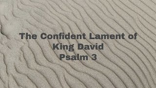 The Confident Lament of King David