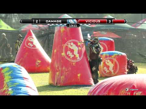 Tampa Bay Damage vs Omaha Vicious 2014 PSP West Coast Open Saturday Game 11