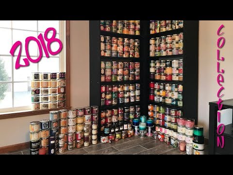 My Bath & Body Works Candle Collection - 2018