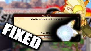 """""""Failed to connect to the network""""/Lagging Issues? Methods That Can Help Fix This Issue 