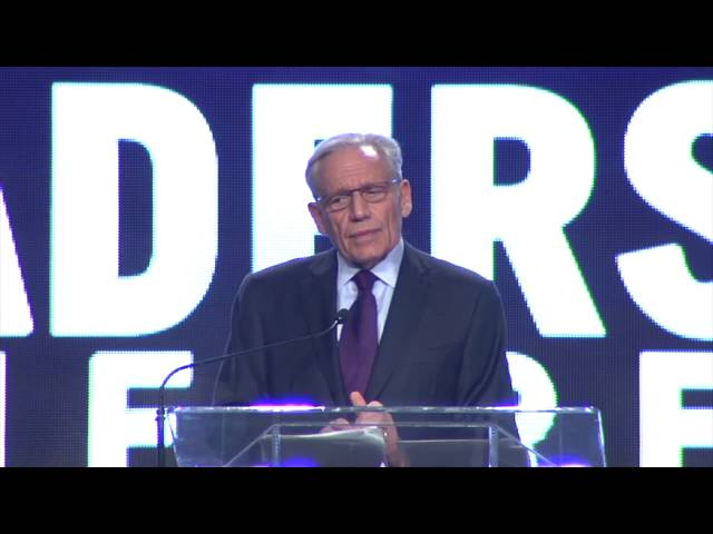Investigative Reporter BOB WOODWARD – Political Leadership for a Dangerous World
