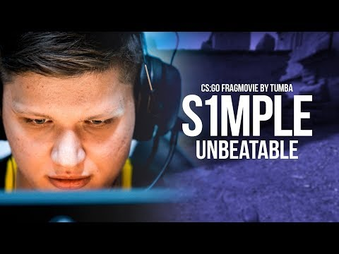 CS:GO Fragmovie: s1mple - Unbeatable (Best of 2018)