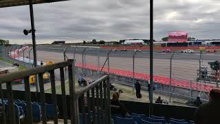BTCC Silverstone Race 3 start from Copse corner