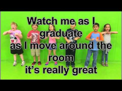 Watch Me as I Graduate Lyrics & Movement for Kindergarten