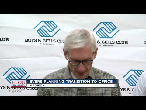 Tony Evers planning transition to Wisconsin governor