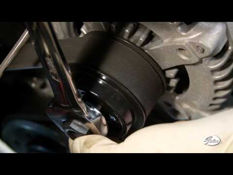 GATES TRAINING: Alternator Decoupler Pulley - How to Inspect and Replace (full version)