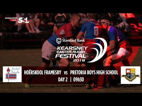 KERF - Hoerskool Framesby XV vs Pretoria Boys High XV, 31 March