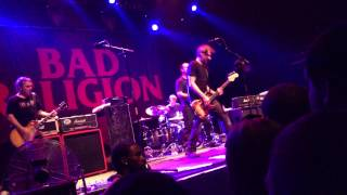 Bad Religion Terminal 5 NYC 3/26/13 - Robin Hood in Reverse, Land of Endless Greed, & You (HD!)
