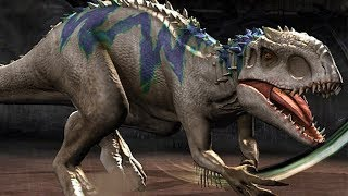 INDOMINUS REX what is made of - Jurassic World The Game