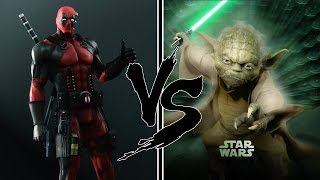 УПОРОТАЯ РЭП БИТВА: DeadPool VS Йода | RAP BATTLE: DEADPOOL VS Yoda (Star Wars)
