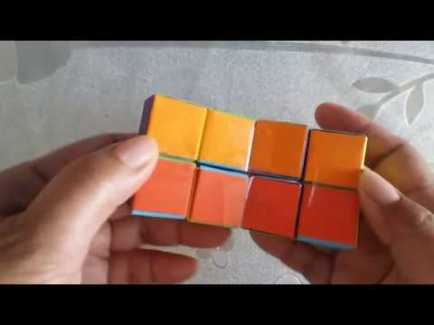 How to make paper infinity cubes   paper cubes