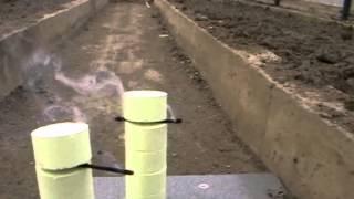 Окуриваем теплицу серной дымовой шашкой