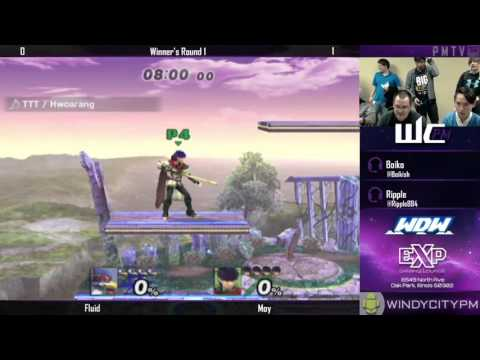 WDW 10/07/15 - Fluid (Fox/Falco) vs Moy...