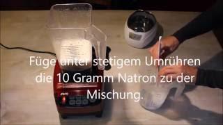 Liposomales Vitamin C selber machen. Ganz einfach! Deutsch.