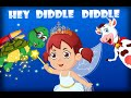 Hey Diddle Diddle | Nursery Rhyme Songs With Lyrics | Poems For Children In English video