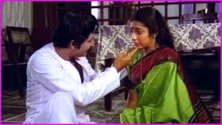 Sobhan Babu And Suhasini Best Scenes - Punya Dampathulu Telugu Movie