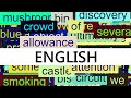 watch he video of 3000+ Common English Words with Pronunciation