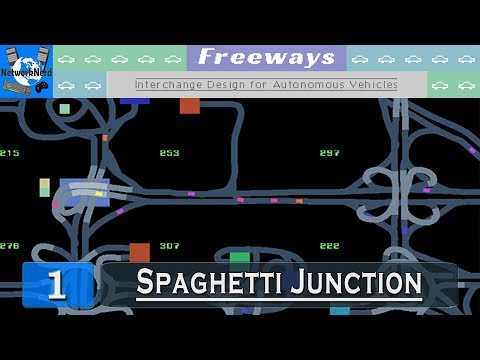 Freeways #1 ┤Spaghetti Junction (what's your function?)├