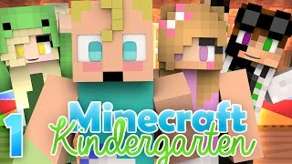 Minecraft 101 Lessons | Minecraft Kindergarten [Ep.1 Minecraft Interactive Roleplay]