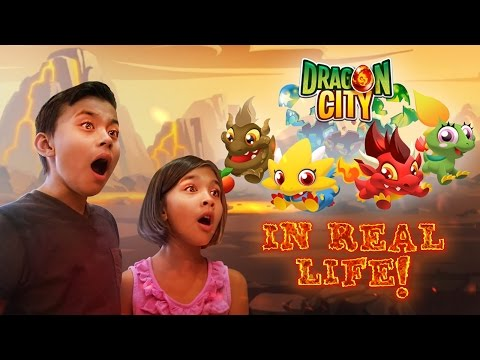 DRAGON CITY IN REAL LIFE!