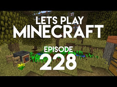 ►Let's Play Minecraft: FARM OASIS! (Episode 228)◄