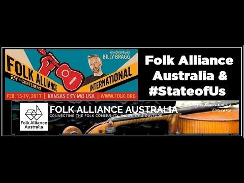 2017 FOLK ALLIANCE CONFERENCE - LIVE - Private Room Showcases (Australia | Fri, 2/17/17)