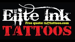 Elite Ink Tattoo Company-Logo Tattoo-World Famous Studios(Elite Ink Tattoo Company has some of the highest ratings in the tattoo industry. Best known for its advanced level of artistry and superior customer service., 2015-02-10T01:45:36.000Z)
