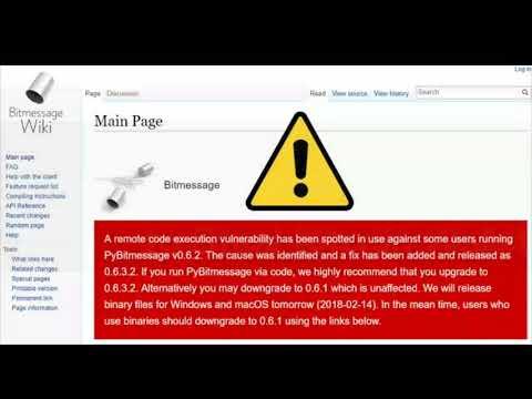Hackers Exploiting 'Bitmessage' Zero-Day to Steal Bitcoin Wallet Keys - HINDI