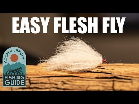 How To Tie A Flesh Fly - Easy Flesh Fly Pattern For Alaska