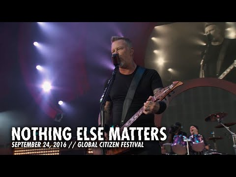 Metallica: Nothing Else Matters (Global Citizen Festival, New York, NY - September 24, 2016)
