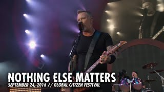 Metallica: Nothing Else Matters (Live - Global Citizen - New York, NY - 2016)
