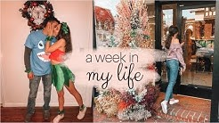 Week in my life! halloween, bridesmaid dresses & engagement dress shopping
