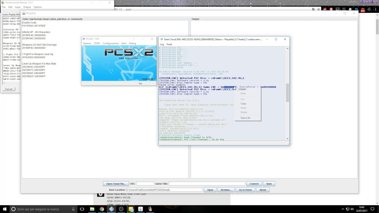 How To Patch Cheat Pcsx2 Cheats