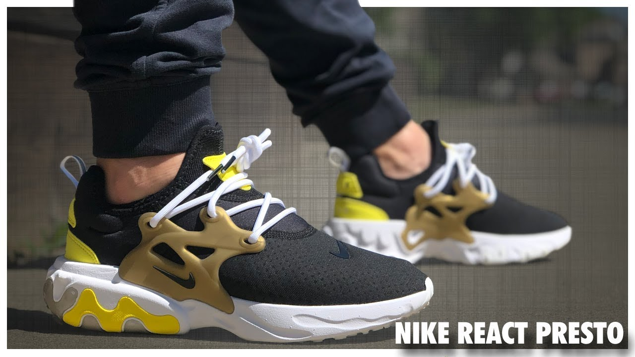 low cost 5cb37 21f01 Nike Presto React | Review