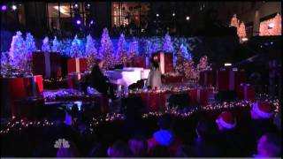 "[HD]Charice ""Jingle Bell Rock"" & David Foster @ Rockefeller Center, New York= 11/30/10"