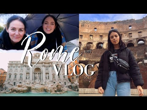 My week in Rome 鈳淭ravel Vlog