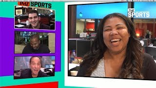 Justice Harper Is Killing It On The Basket Ball Court | TMZ Sports