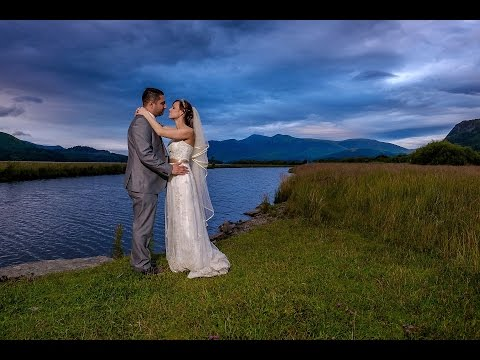 Lodore Falls Cumbria Wedding slideshow | Kinga and Shiral