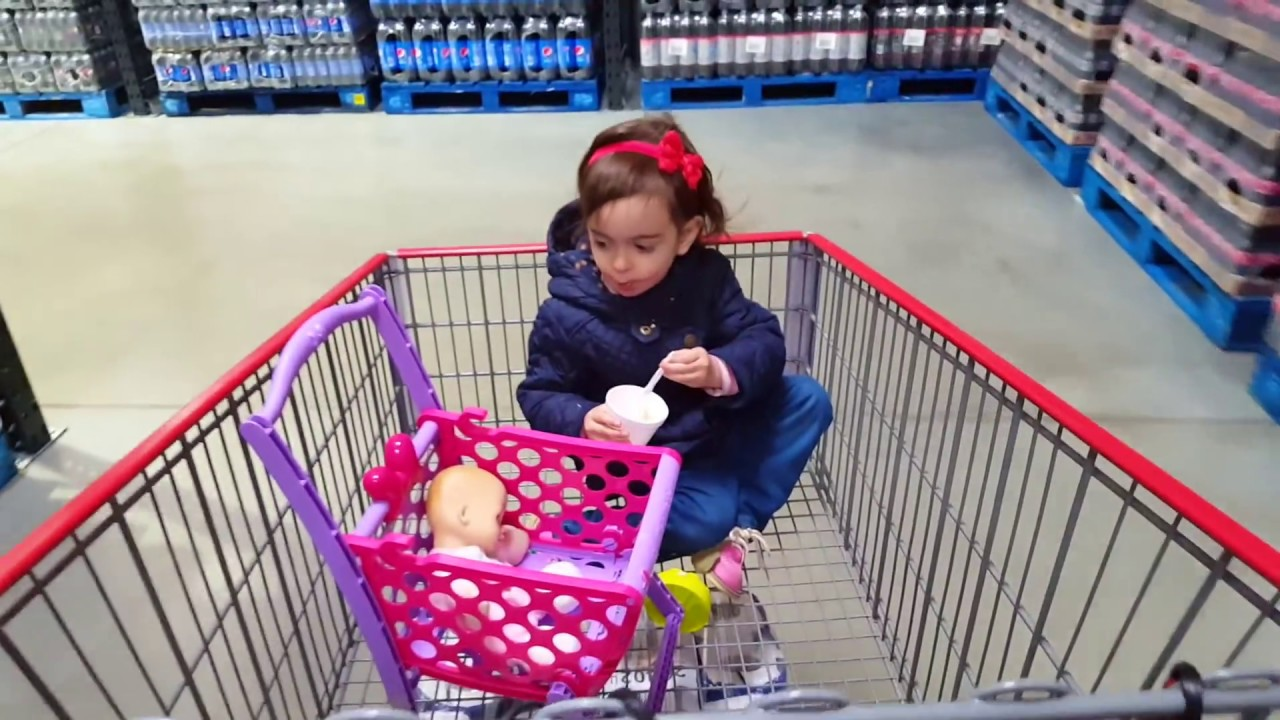 615e14aeeb4e Playing   Doing Shopping   Toy Supermarket Mini Cart   Play House ...