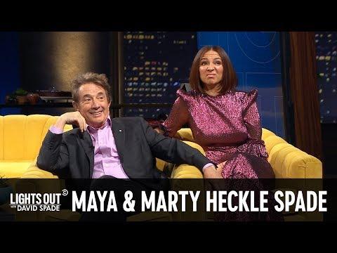 Maya Rudolph & Martin Short Refuse To Laugh At David Spade's Monologue - Lights Out With David Spade