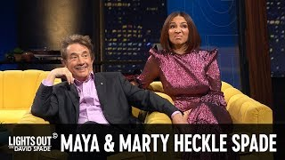 Maya Rudolph & Martin Short Refuse to Laugh at David Spade's Monologue - Lights Out with David Spade