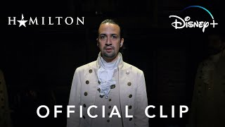 Hamilton | Official Clip | Disney+
