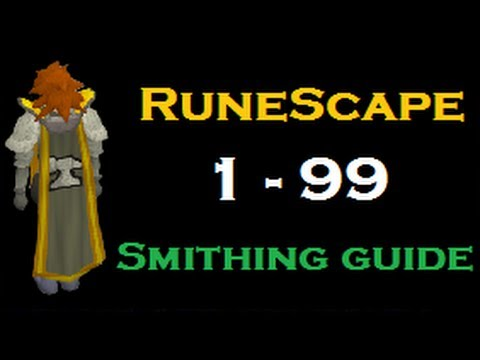 runescape smithing guide 1 99