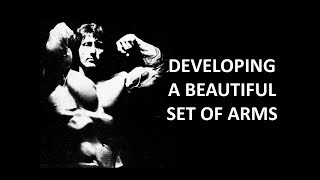 A BEAUTIFUL SET OF ARMS! FRANK ZANE GOLDEN ERA SERIES!!