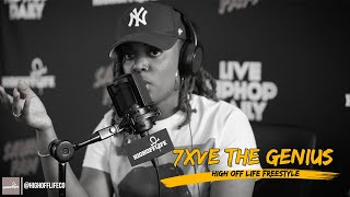 7xve The Genius SNAPS on a DMX Beat! | #HighOffLife Freestyle 033